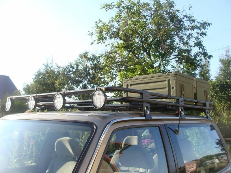 Багажник на крышу для ниссан патрол своими руками 54